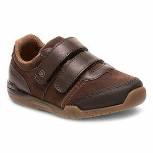 Stride Rite Monte Brown toddler boys shoes 9